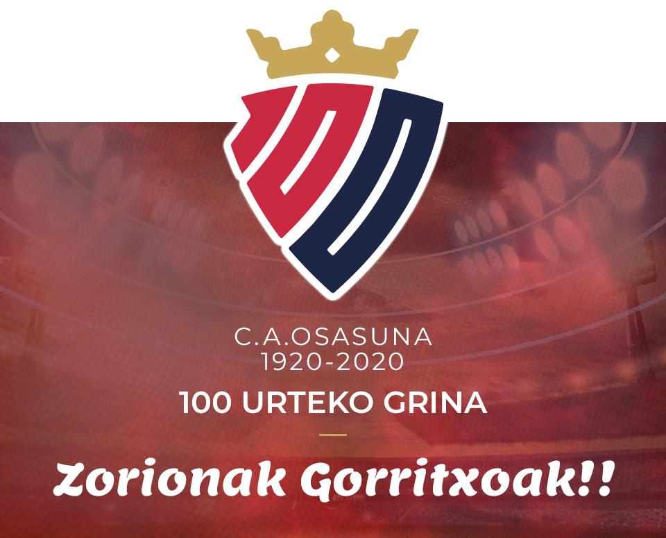 C.A. Osasuna - 100 Urteko Grina