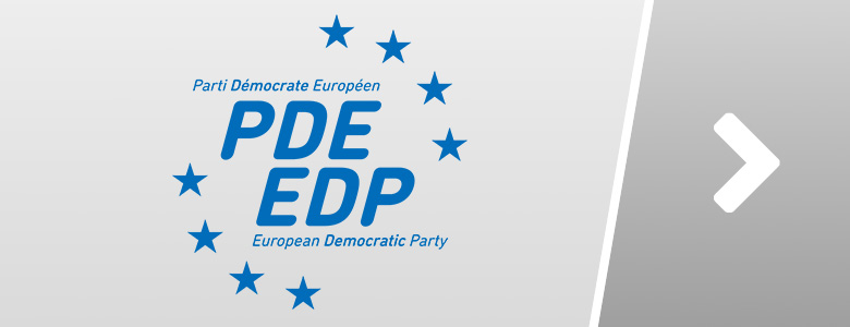 PDE - EDP - European Democrats – European Democratic Party