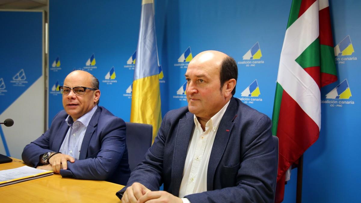 LA PROVINCIA | PNV Y CC, al borde del cisma en el Senado Ortuzar-encabeza-una-delegacion-jeltzale-que-viaja