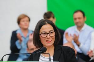 Amaia Agirre- presentacion candidatura a Getxo