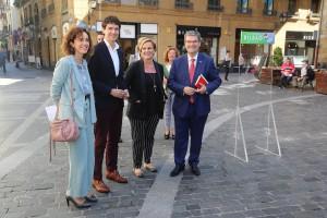 Juan Mari Aburto, Unai Rementeria - Comercio. Bilbao