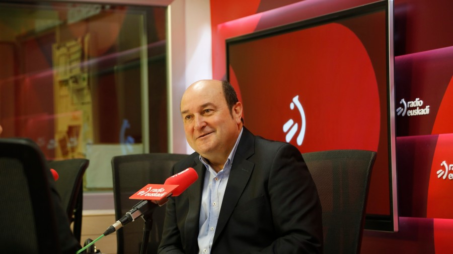 Andoni Ortuzar Radio Euskadin 20200303