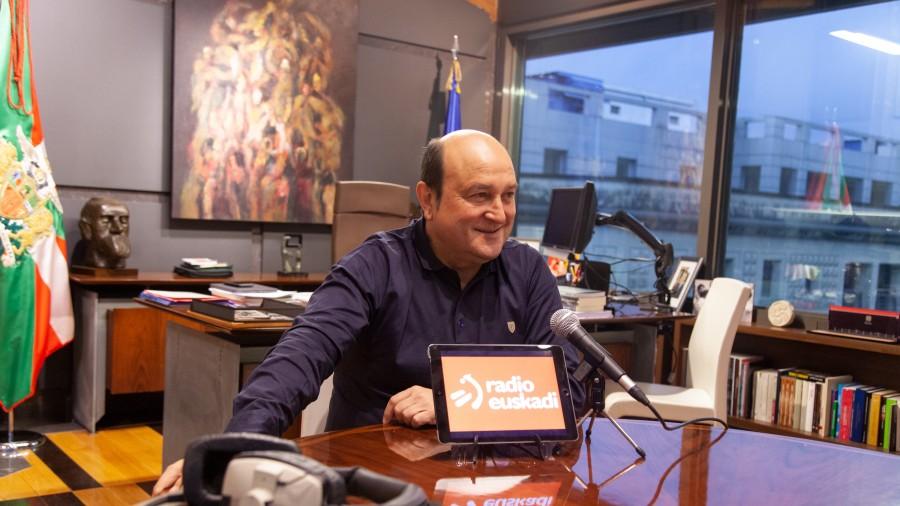 Andoni Ortuzar - Radio Euskadi irratian
