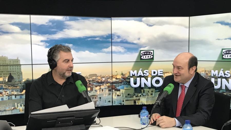 """Ortuzar: """"Euskadiko politikaren arazorik handiena Ciudadanos deitzen da: Riverak Espainiako Macron izan nahi du, baina Berlusconiren politikak eginez"""""""