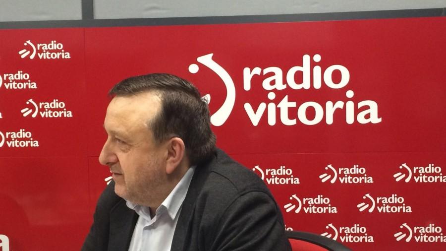 """José Antonio Suso: """"Ez da antzematen ezberdintasun handia dagoenik Arabako PPren eta Madrilgo Ciudadanos-en jokamoldeen artean"""""""
